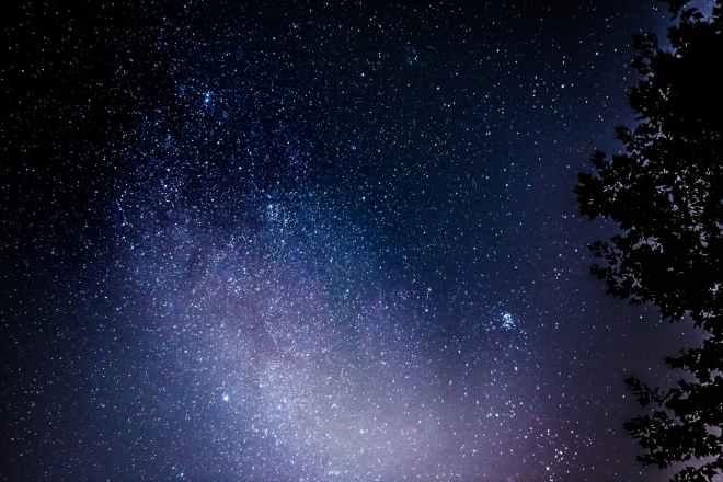 photo of night sky with stars